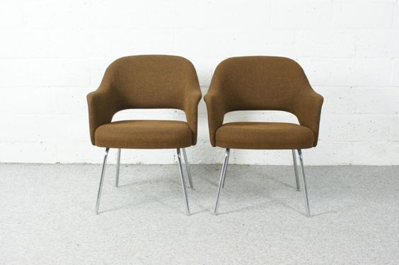 €420 for the pair Brown executive chairs