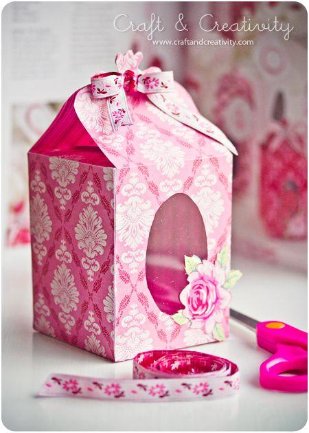 Modelos de Caixa para Presentes