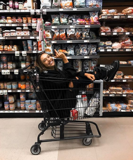 """456.4k Likes, 2,050 Comments - ALEXIS REN (@alexisren) on Instagram: """"a girl can't grocery shop like this?"""""""