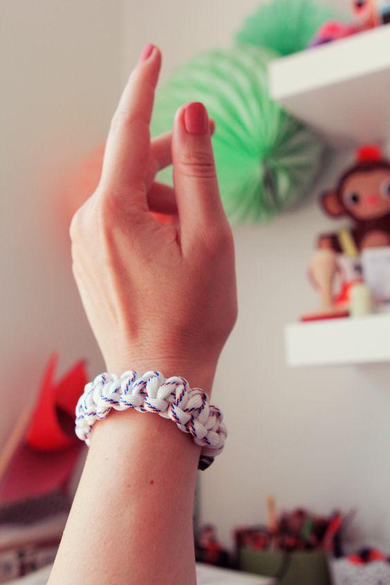 DIY : le bracelet en paracorde marin ! - Poulette Magique - blog DIY & déco - Narbonne