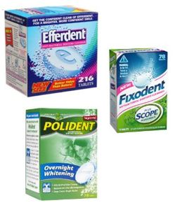 Household uses for polident tablets