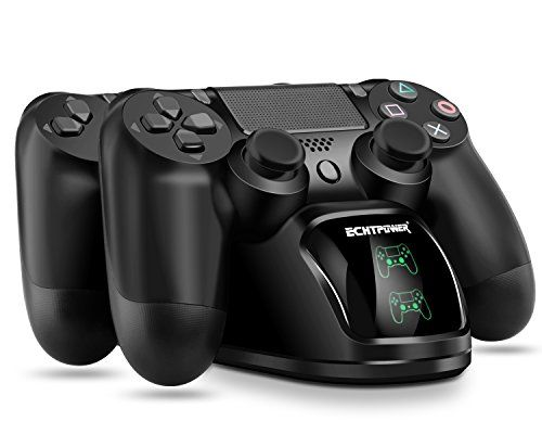 Ps4 Chargeur Echtpower Dualshock 4 Station De Charge Support D Alimentation Pour Sony Playstation Ps 4 Slim Pro Controleu Station De Charge Playstation Ps4