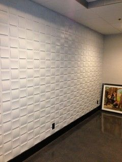 3D mdf wall panels and leather panels - modern - wallpaper - los angeles - by Royal Stone & Tile