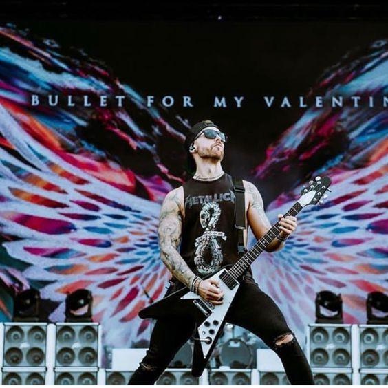 Matt Tuck Bfmv Bullet For My Valentine Black Label Society Singer