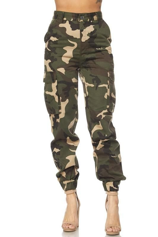 High Waist Camo Pants #TweenFashionTrends | Camo jogger