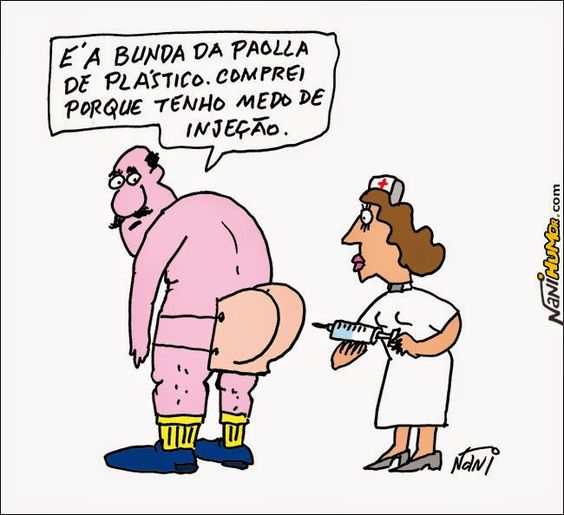 Nani Humor: BUNDA DE PLÁSTICO DA PAOLLA OLIVEIRA
