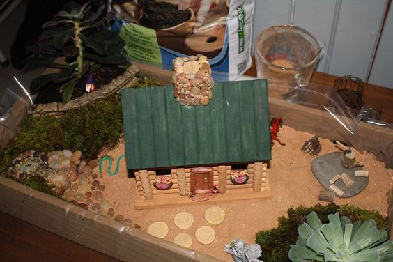 Gardens Miniature And The Roof On Pinterest