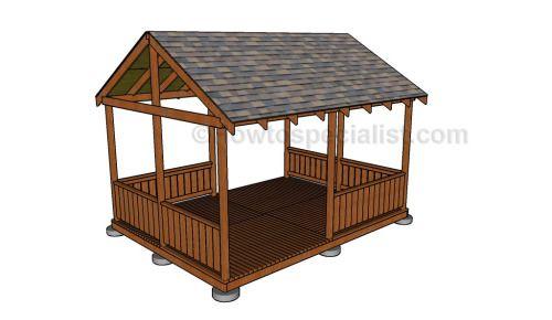 12x16 gazebo free gazebo plans pinterest gazebo for 12x16 kitchen plans