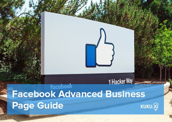 Facebook: from start to advanced business page - read our guide  https://blog.kuku.io/en/manage-multiple-social-media-accounts-facebook-for-business/