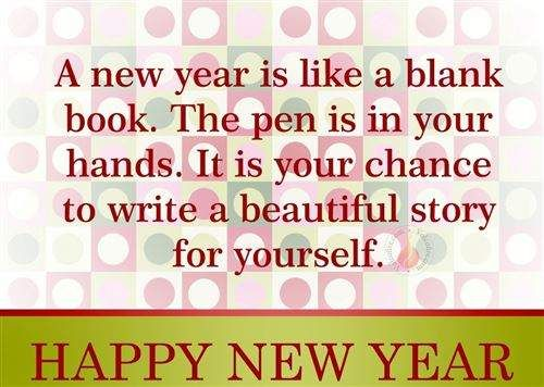 Happy New Year Thoughts 2