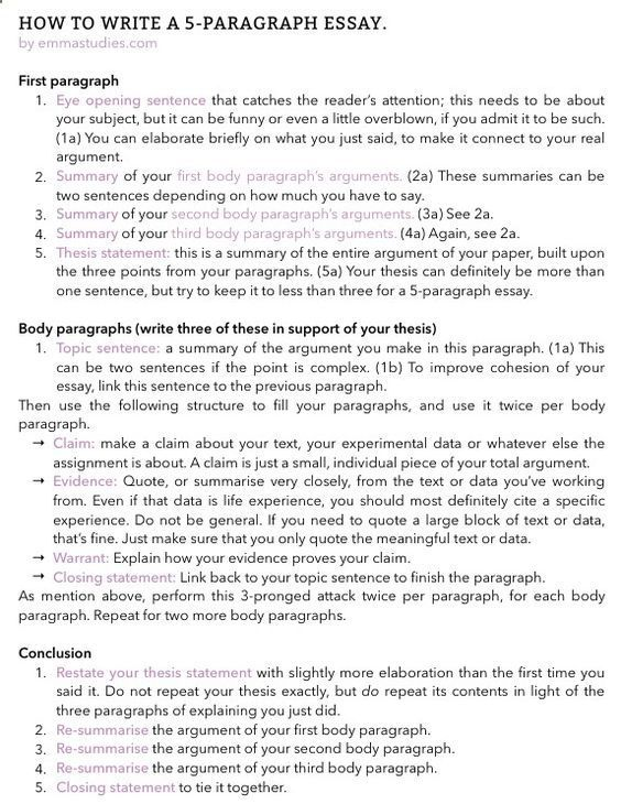 How To Write A Five Paragraph Essay In 2020 Writing Skill Tip English Literature Dissertation Conclusion
