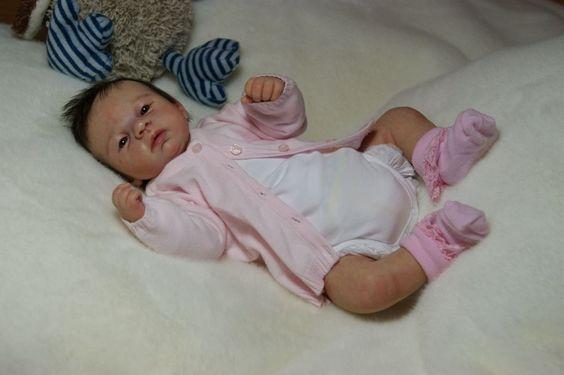 Reborn Baby *** Sarah***- by Kim van de Wetering