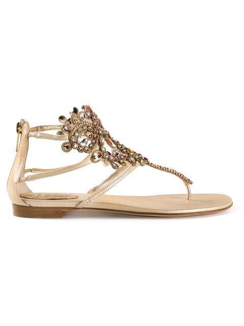 Shop Rene Caovilla crystal embellished sandals in Tootsies from the world's best independent boutiques at farfetch.com. Over 1000 designers from 300 boutiques in one website.