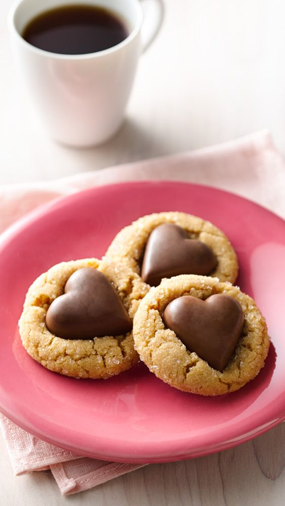 The loveable combo of chocolate and peanut butter combine in these shortcut cookie, made with Betty's peanut butter cookie mix. Like to plan ahead? Cookie dough can be covered and refrigerated up to 24 hours before baking. If it's too firm, let stand at room temperature 30 minutes.:
