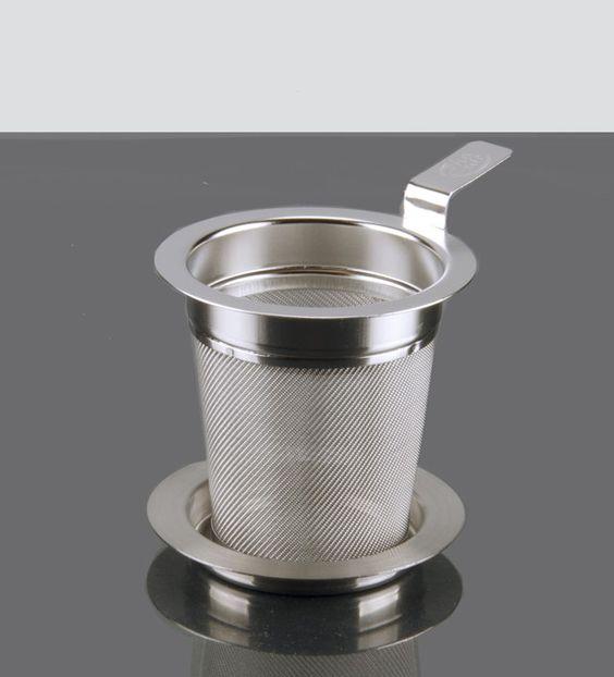 Filtro Konic 6: Filtro de acero inoxidable de 6 cm. Perfecto para la mayoría de las tazas.