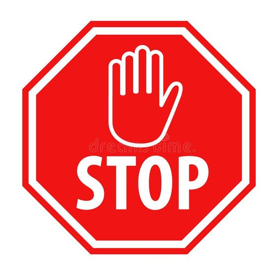 Red stop sign with hand symbol icon vector illustration. Simple red stop roadsig , #AD, #hand, #symbol, #sign, #Red, #stop #ad