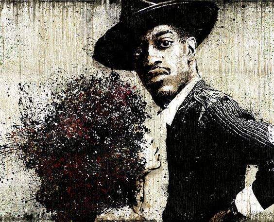 """Andre 3000 (Outkast) and Erykah Badu's """"Pressed In a Book"""", the story behind Miss Jackson."""
