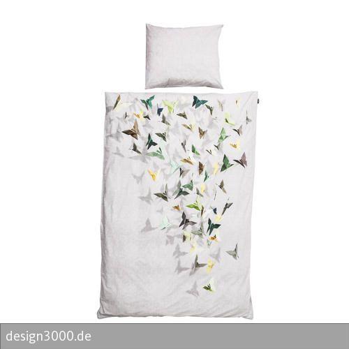 Designer Bettwäsche-Set mit einem farbechten Print.