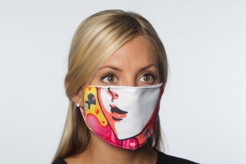 TrueninZa Face Mask - High Quality Face Protection Mask for Ski, Snowboard, Snowmobile, and All Outdoor Winter Sports, Warm with Moisture Management and Anti-Microbial Spray, Made in USA (Pink Lady) by TrueninZa. $14.99. Ride in Style and Comfort with TrueninZa Gear!!!  TrueninZa uses the best quality fabrics and materials available to provide its customers with the highest quality products.  TrueninZa Bandana/Face Mask are designed, printed, sewed, cut, packaged, photographed...