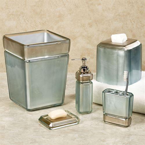 Popular Bath Murano Bathroom Resin Toothbrush Holder Silver