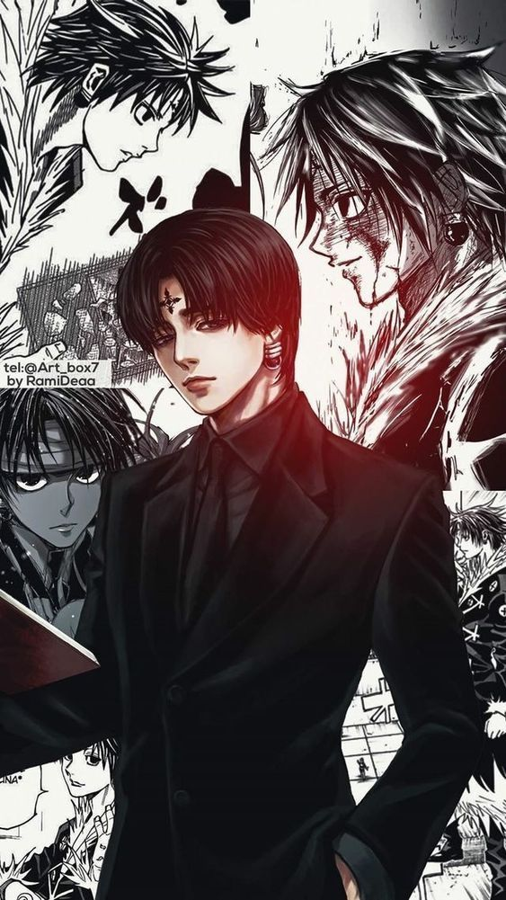 List Of Best Anime Wallpaper Iphone 7 Plus Iphone X Xr Xs 6 7 8 Plus Art Printed Phone Case H In 2020 Hunter Anime Dark Anime Hunter X Hunter