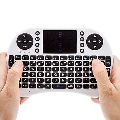 Mini Wireless QWERTY keyborad com touchpad Rato – BRL R$104.00