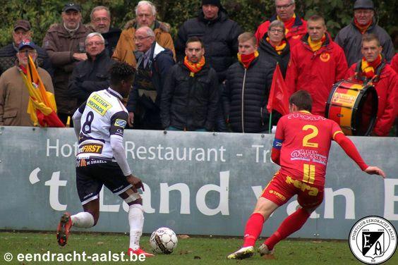 Bornem vs Eendracht Aalst / Zondag 13 november 2016 / Het Breeven / Cédric Mitu
