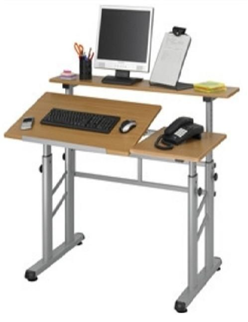 Height Adjustable Split Level Drafting Table Drafting Table
