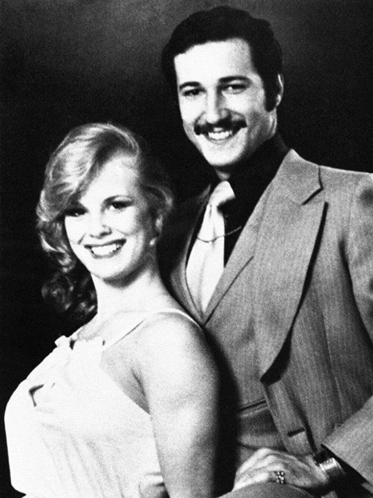 Wedding photo of Paul Snider and Dorothy Stratten