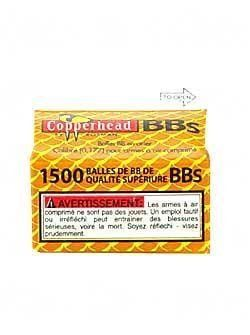 Crosman Copperhead 1500 Copper Coated BBs in a Bottle by Crosman. $6.94. Style number 0737