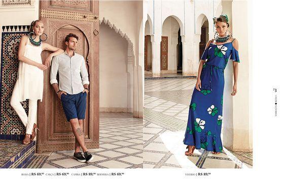 Marrocos   Riachuelo - O Abraço da Moda