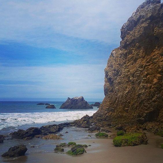 El Matador beach in #Malibu.