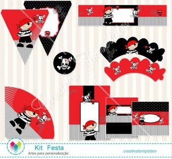 Kit festa Pirata mod:827