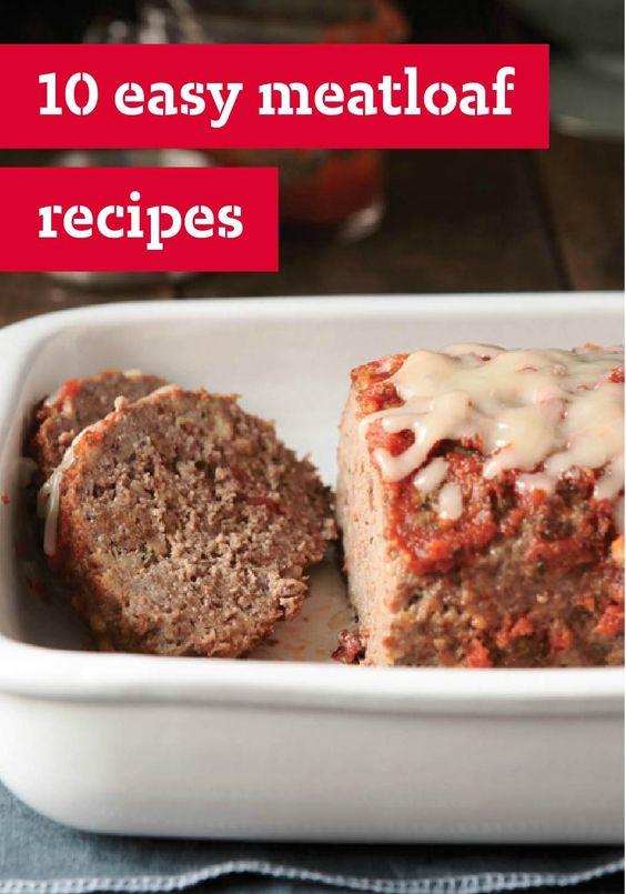 meatloaf veggie recipes meatloaf and more easy meatloaf meatloaf ...