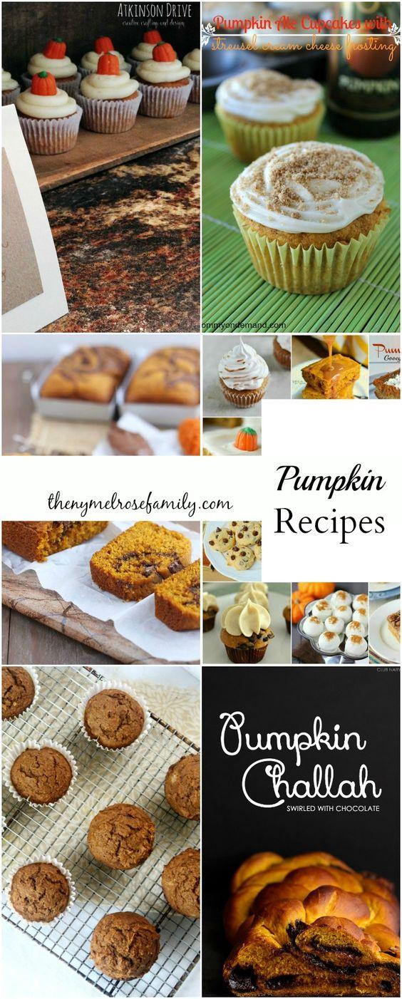 Pumpkin Recipes www.thenymelrosefamily.com #pumpkin