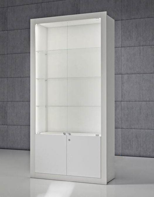 White Display Cabinet With Glass Doors Glass Cabinet Doors Wall Display Cabinet White Display Cabinet Wall mounted display cabinets with glass doors