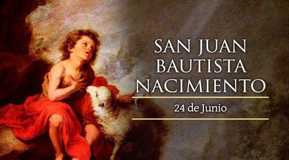 """""""La Iglesia celebra el nacimiento de Juan como algo sagrado y él es el único de los santos cuyo nacimiento se festeja"""", explicaba el Obispo San Agustín (354-430) en sus sermones ya en los primeros siglos del cristianismo."""