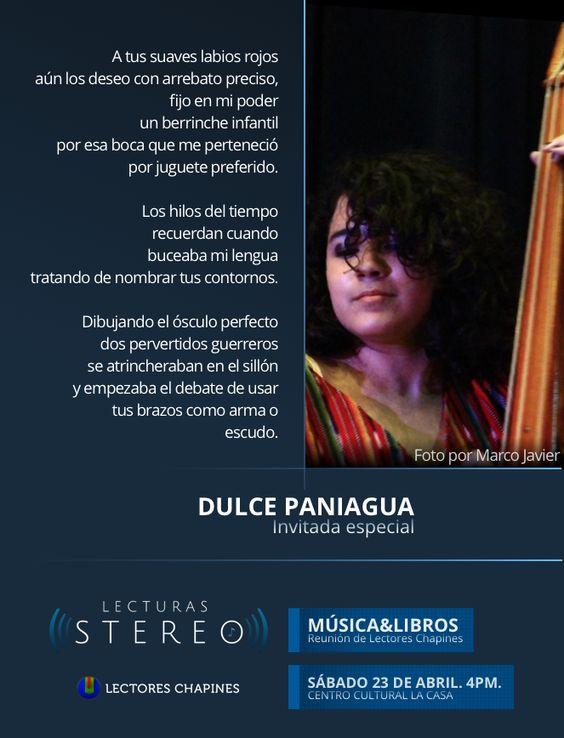 Texto de Dulce Panigua, invitada especial a la #ReuniónDeLectores