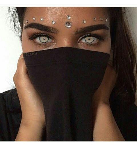 gözler, güzel ve makyaj görüntüsü