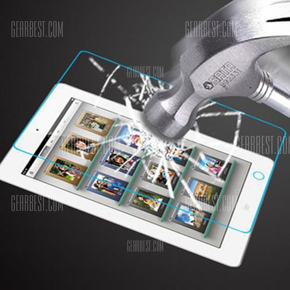 Practical 0.3mm 9H Hardness Tempered Glass Screen Protector for iPad 2 / 3 / 4
