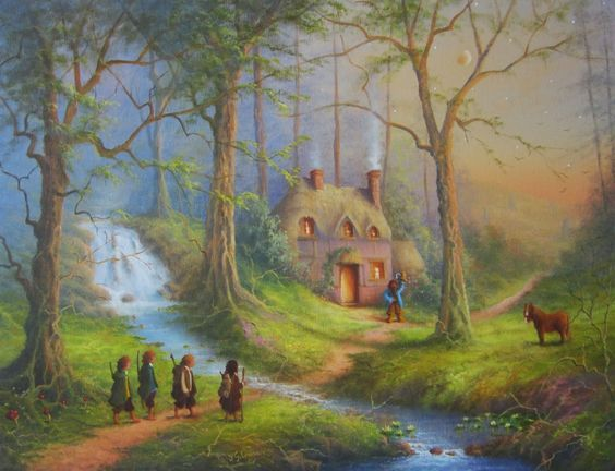 The House Of Tom Bombadil. << I still wish they had put him in the movie! He was by far the coolest character xD: