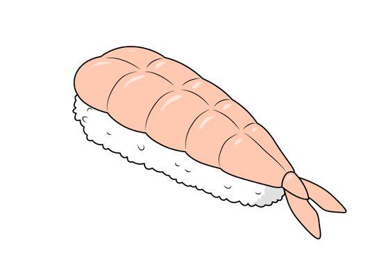 Cách Vẽ các Loại Sushi Nhật Bản Khác Nhau