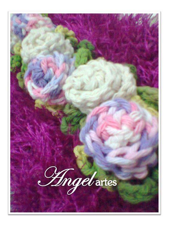 Peças em crochê para decorar seu lar!