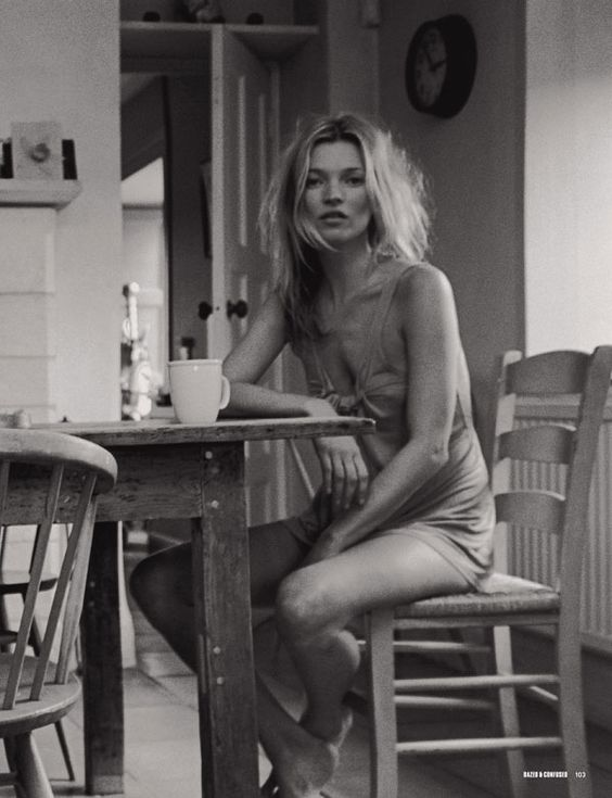 Kate Moss by Venetia Scott