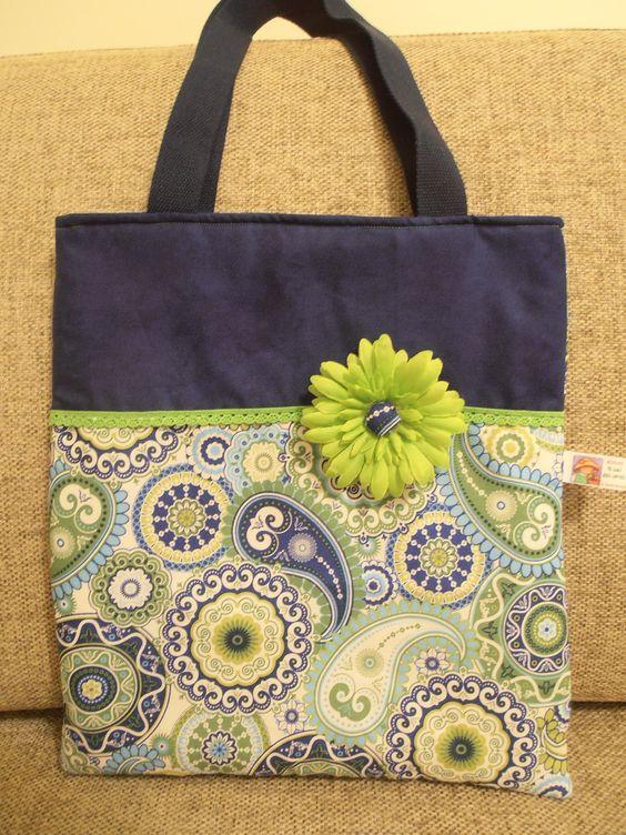 """""""Blue & Pink"""" Bag"""
