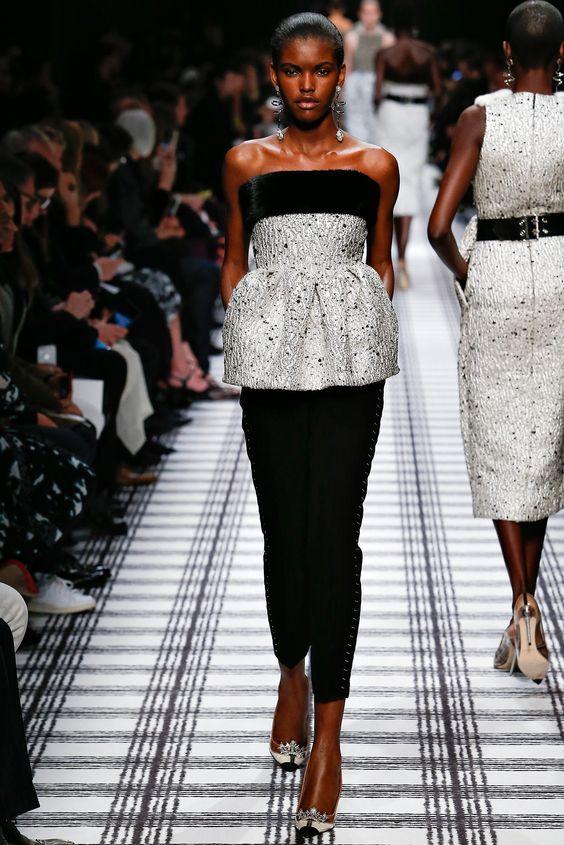 Balenciaga Fall 2015 Ready-to-Wear Fashion Show - Amilna Estevão (Elite)- pants stitchline