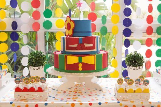 Decoração para Festa Infantil Patati Patata: