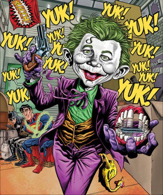 mad-batman, superman & joker