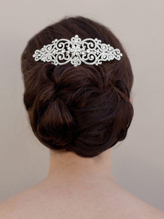 Hair Comes the Bride - Bella Twilight Inspired Bridal Hair Comb ~ Bella, $94.00 (http://www.haircomesthebride.com/bella-twilight-inspired-bridal-hair-comb-bella/)