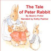 The Tale of Peter Rabbit has delighted young children for years! This classic story, written by Beatrix Potter and narrated by the warm and soothing voice of Kathy Poelker, presents the escapades of our favorite little bunny as he encounters Mr. McGregor who is working in his lush garden, amid wonderful and tasty vegetables. Peter Rabbit finds himself in a mess after he squeezes under Mr. McGregor's gate and into his garden - against the caution of Mrs. Rabbit!